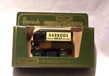 KKar Matchbox - 1984 Yesteryears - Y-29 * 1919 Walker Van - Grn - Harrods Bread