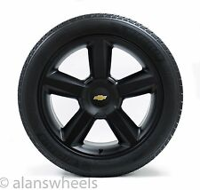 "4 NEW Chevy Suburban Tahoe LTZ Matte Black GBT 22"" Wheels Rims Mich Tires 5308"