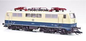 TT kuehn-modell Elektrolokomotive BR 111 ozeanblau beige DB Ep. IV E-Lok # 33100
