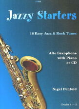 Nigel Penfold: Jazzy Starters for Alto Sax with CD SP651