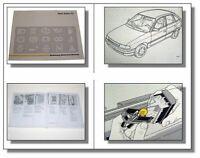 Opel Astra F Betriebsanleitung & Wartung 1992 Bedienungsanleitung