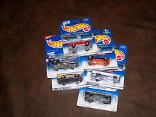 HOT WHEELS - FIRST EDITIONS- LOT OF 6 - NEW - PORSCHE - MONTE CARLO & MORE - NEW