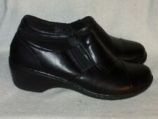 Women's Genuine Leather Shoes by Clarks Collection - Worn Once - Sz 8 W