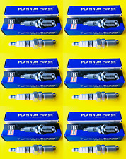 New SET OF 6 CHAMPION Platinum POWER Spark Plugs - Made in USA 3013