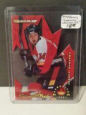 1997-98 Donruss Canadian Ice National Pride #19 Theo Fleury : Calgary Flames