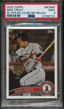 2020 Topps Series 1 Mike Trout Rookie Medallion PSA 9 Mint BASC