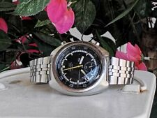 Vintage Rare SEIKO CHRONOGRAPH AUTOMATIC 6139-7030T Stainless Steel Mens Watch