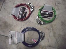 "New ! 36"" CABLE COMBINATION LOCK MULTI-PURPOSE 3' WIRE CABLE Green Red or Blue"