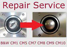 B&W CM1 CM5 CM7 CM8 CM9 CM10 Dome Tweeter De Diafragma De Reemplazo Reparación de altavoz