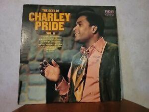 Charley Pride - The Best of Charley Pride Vol. 2 - 1972 Vinyl LP Record Album