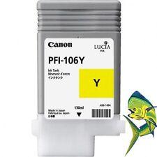 Canon PFI-106Y  Yellow Ink Tank for iPF 6400 6400S 6400SE 6450 PFI-106 OEM new