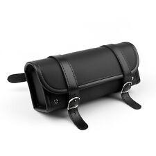 Motorcycle Tool Bag Fork Handlebar Saddlebag Round Rivet Fork Bag
