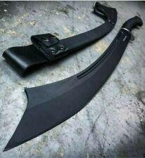 "30"" Honshu Tactical War Sword CARBON STEEL Fixed Blade Knife Machete w/ Sheath"