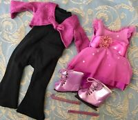 Authentic American Girl Doll Clothes: TWO-IN-ONE ICE SKATING OUTFIT 2005 - 2008