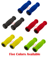 Bicycle Short Foam Grips No Reflectors Soft Beach Cruiser MTB Lowrider BMX Bike