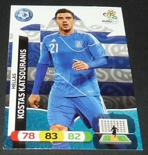 KOSTAS KATSOURANIS GRECE HELLAS FOOTBALL CARD PANINI UEFA EURO 2012