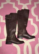 Womens G By Guess Dark Brown Boots Size 6M