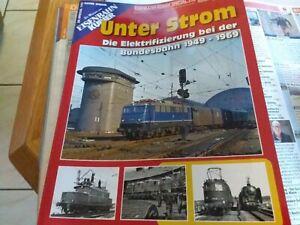 Eisenbahn kurier special -die DB v100,deutsche kriegslokomotiven,unter strom