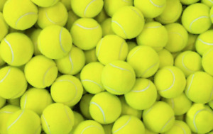 TENNIS BALLS SPORT PLAY CRICKET DOGS TOY BALL ROUNDERS OUTDOOR FUN BEACH LEISURE