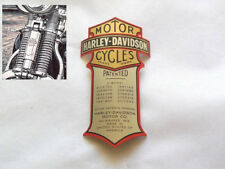 Harley Davidson Emblème MEDALLION pour springer FOURCHE CROSS BONES 66030