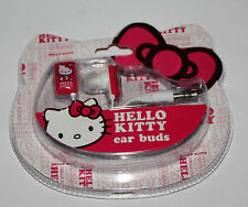HELLO KITTY Ear Buds Ear Phones NIP