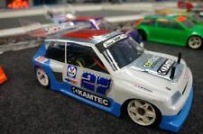 Clio Body Shell kamtec Schumacher supastox V12 Lexan sobrepulverización película!