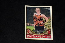 BRITTANY LINCICOME 2011 GOODWIN CHAMPIONS SIGNED AUTOGRAPHED CARD #52 LPGA