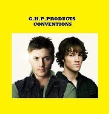 SUPERNATURAL CONVENTION PANEL 3 DISK SET 2012 **RARE L@@K**OVER 6 HRS