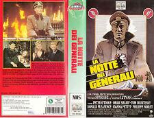La notte dei generali (1967) vhs COLUMBIA