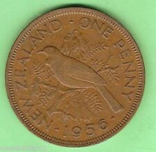 1956  NEW ZEALAND PENNY COIN