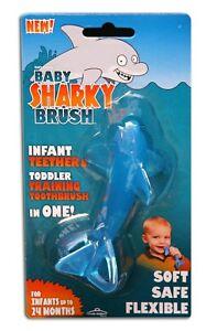 Baby Banana Brush, Original Sharky Infant Tooth Brush
