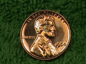 UNITED  STATES   1 Cent   1964   PROOF  .