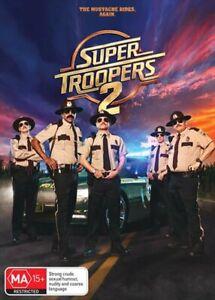 Super Troopers 2 DVD
