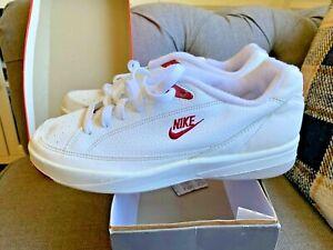 Men's Vintage 90s 1994 OG Nike GTS White India Red Size 9 w/box! 🔥 👟 140296161