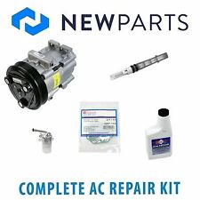 For Ford Focus 2000-2002 2.0L NEW AC A/C Repair Kit W/ OEM Compressor & Clutch
