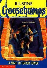 A Night in Terror Tower (Goosebumps # 27) by R. L. Stine, Good Book
