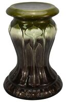 Brush McCoy Pottery Majolica Tulip Pedestal
