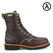 """THOROGOOD FLYWAY WATERPROOF 8"""" USA-MADE WORK BOOTS 814-4141 - ALL SIZES - NEW"""