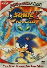 Sonic X: Pure Chaos / A Chaotic Day (DVD, 2005, Slim Case) Two Great Shows