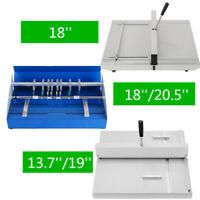 Electric/Manual Scoring Paper Creasing Machine 350-520mm Paper Perforator