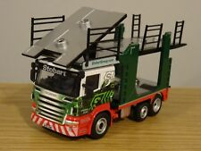 OXFORD EDDIE STOBART SCANIA CAR TRANSPORTER TRUCK CAB MODEL 76SCT005 1:76