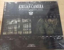 KIRLIAN CAMERA - IT DOESN'T MATTER,NOW - CD SIGILLATO SEALED DIGIPAK