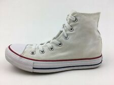 Converse M7650 All Star High Top Canvas Sneakers Size M 5/W 7 Optical White 2406