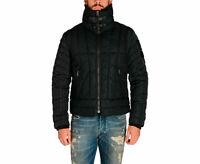 DIESEL W-FRANKIE Mens Jacket Puffer Quilted Winter Outwear Down Filled Coat