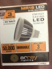 LED MR16 DIMMABLE ARRAY AACMR16NW25 (TOTAL OF 6) FAST 2-DAY SHIPPING