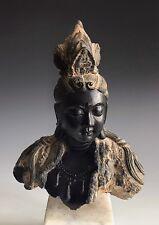 A Vintage Buddist Sculpture Bust