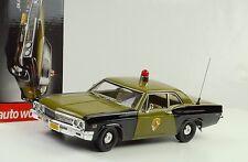 1966 Chevrolet Chevy Biscayne Maryland State Police 1:18 ERTL Auto World