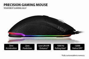 Sound BlasterX Siege M04 Optical Professional Gaming RGB Programmable Mouse LAU