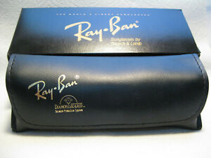 Ray Ban Sunglasses by Bausch & Lomb Rare Vintage Diamond Hard Case & Box NOS New