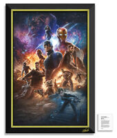 The Avengers - Stan Lee Facsimile Signed - Framed Museum Canvas™ Special Edition